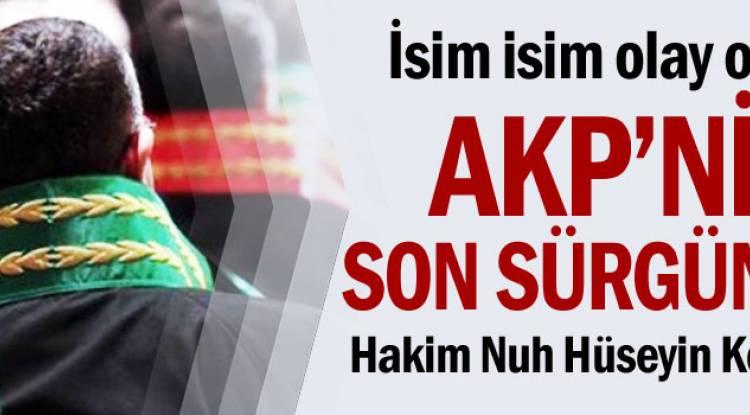 AKP'nin Son Sürgünleri